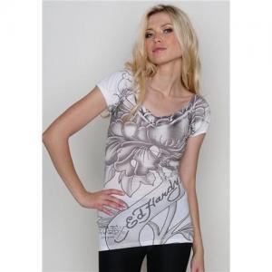 China Wholesale ED Hardy Women Tee,ED hardy t-shirts,brand t-shirts 18$/pcs on sale