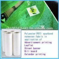 China Supply 100% polyester spunbond nonwoven fabric,Color,100% PET ,126Eco-friendly on sale