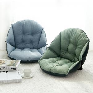 One Piece Plush Seat Cushions Machine Washable 500 - 1100G 42 * 48 * 23CM Manufactures