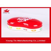 0.23 MM Colored Holiday Candy Gift Tin Containers Personalised For Children Manufactures