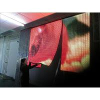Advertising P4mm Flexible Led Display Screen With 140º Viewing Angle Manufactures