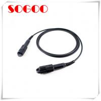 Outdoor Tactical Armoured Fibre Optic Cable CPRI FC / SC FTTA Waterproof Manufactures