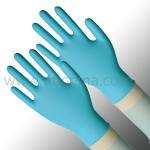 4.5g disposable nitrile exam gloves, 240mm length 105mm width nitrile gloves, L size nitrile gloves Manufactures