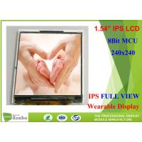 "Buy cheap Wearable LCD Display 1.54"" 240 * 240 IPS Small LCD Screen With 8Bit MCU from wholesalers"