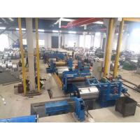 Hot Rolled Steel Metal Slitting Machine , Steel Slitting Equipment Automatically Manufactures