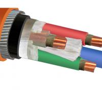 IEC 60502 IEC 60228 Copper Wire Cable / Armored Electrical Power Cable Manufactures