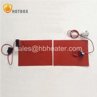 Buy cheap Silicone rubber heating pad blanket mat with knob type thermostat or digital from wholesalers