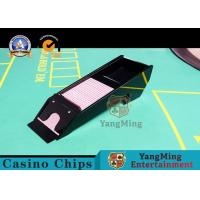 Waterproof Casino Card Shoe , Eight Deck Acrylic Playing Cards Dispenser Case Manufactures