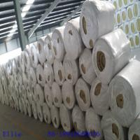 China 100kg/m3 rock wool blanket with wire mesh for insulation on sale