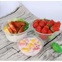 China Disposable Salad Bowl,Microwave Safe Plastic Bowls,Hard Clear Plastic Dessert Bowls on sale