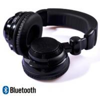 Black headset Loud and powerful bass noise cancel Wireless Stereo Bluetooth headphone Manufactures