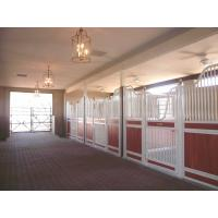 Indoor Easy Installation Horse Stable Stall Panels Doors Anti - Corrosion Manufactures