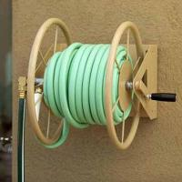 """Wall Mount, Hose Reel, 60M (200F) Length Capacity for 5/8"""" Hose Manufactures"""