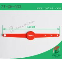 RFID Soft PVC wristband,one-time wristband clasp,Frequency 125KHz, 13.56 MHz, 860~960MHz Manufactures