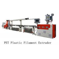 Single Screw 3d Filament Extruder Machine , PET Plastic Filament Extruder Machine Manufactures