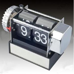 Retro Modern Vintage Auto Flip Alarm Desk Gear Clock Manufactures