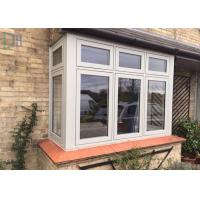 Horizontal Open French Casement Windows with Aluminium Alloy Frame Manufactures