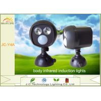 Automatic Induction Durable Solar Powered Night Light Black For Storage Room Manufactures