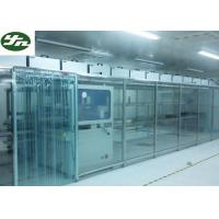 ISO Approved Clean Room Modular Soft Wall Aluminum Frame For OLED Production Manufactures