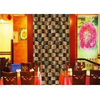 Eco - Friendly Embossed 3d Brick Effect Wallpaper For Restaurant Background Manufactures