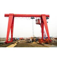 Large Single Beam Gantry Crane 10 Ton Electric Hoist Q235 Q345 Steels 18~36m Span Manufactures