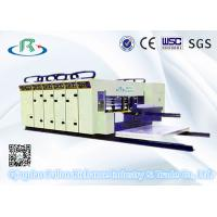 High Speed 5 Series Automatic 6 Color Printing Slotting Die Cutting Machinery Manufactures