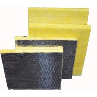 Quality Fireproof glass wool slab, glass wool board for sale