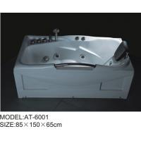 Quality 85 x 150 X 65 / cm Air Bubble Bathtubs free standing ABS Material for sale