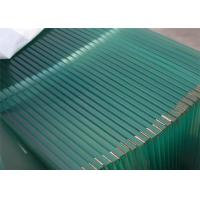 Decorative Toughened Safety Glass , 3mm -  19mm Tempered Glass CE Standard Manufactures