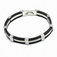 316L Stainless Steel Bracelet, Available in Various Styles Manufactures