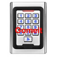 Metal Keypad Stand Alone Proximity Card Reader , IP68 Waterproof Stand Alone Door Access Manufactures