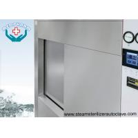 Single Sliding Door Pharmaceutical Autoclave With Fully 304 Chamber Steel Jacket Manufactures