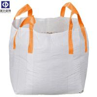 Virgin PP Material 1 Ton Tote Bags / Flexible Bulk Container For Packing Manufactures