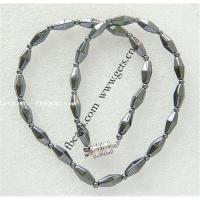 Magnetic hematite necklace Manufactures