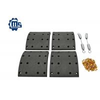Axle Drum Brake Shoe Relining Kit , Truck Brake Components 1535249 1535253 Manufactures