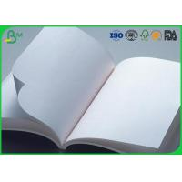 White Uncoated Offset Printing Paper  60g 70g 80g For A4 A3 A5 Size Manufactures