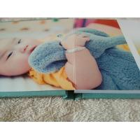 Cool 12 x 16 Big Fabric Covered Photo Books , Personal Baby / Girl Albums Manufactures