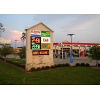 Digital Price Led Gas Station Signs Energy Saving Design for Gasoline Price Changing Manufactures
