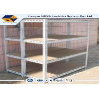 China Light Duty Warehouse Pallet Racking , Industrial Metal Storage Shelving on sale