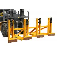 Black Eager - Gripper Forklift Drum Lifter with Adjusting Height , Bandage Type Manufactures