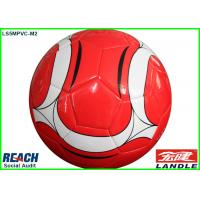China Professional Official Soccer Balls Size 5 , Deflatable PVC Soccer Ball on sale