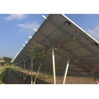 China OEM Solar Panel Racking System , Durable Solar Pv Mounting Structure on sale