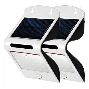 Outdoor Waterproof Solar Motion Sensor LED Light 1W For Patio / Garden Manufactures