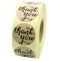 China Plastic Personalised Sticky Name Labels , Rolling Self Adhesive Labels on sale