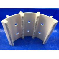 White Advanced Technical Ceramics , 99% Alumina Ceramic Wafer Boat Horizontal Type Wafer Carrier Manufactures