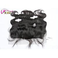 China Pure Indian Ear To Ear Lace Frontal With Baby Hair And Natural Hairline wholesale