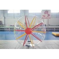 Transparent Inflatable Water Walking Ball / Water Rolling Ball For Fun Manufactures