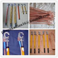 Short circuiting rod&H.T Discharge Rod,portable earth rod set Manufactures