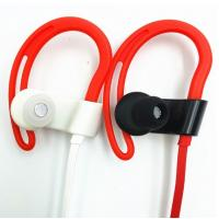 Noise Reduction Sport Bluetooth Earphone With 110mAh Rechargeable Li Ion Battery Manufactures