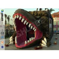 Removable Dinosaur Cabin 6D Movie Theater Motion Ride Hydraulic / Electric System Manufactures